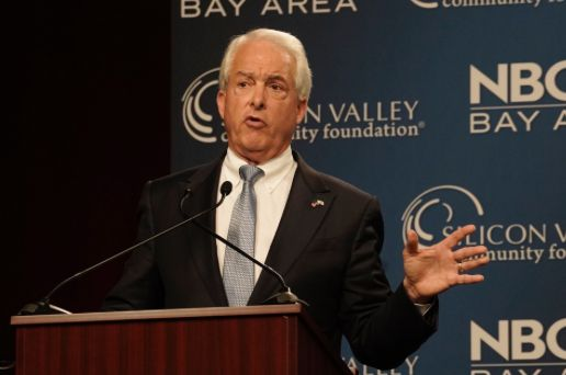 Republican John Cox, a San Diego businessman, is currently poised to make it into the general election for governor, preventi
