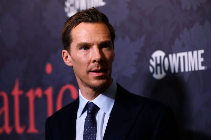 Benedict Cumberbatch reportedly jumped out of a taxi to chase four muggers away from a cyclist they were attacking.