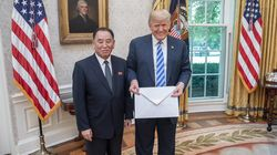 트럼프에 전한 '김정은의 큰 봉투'는 어떤
