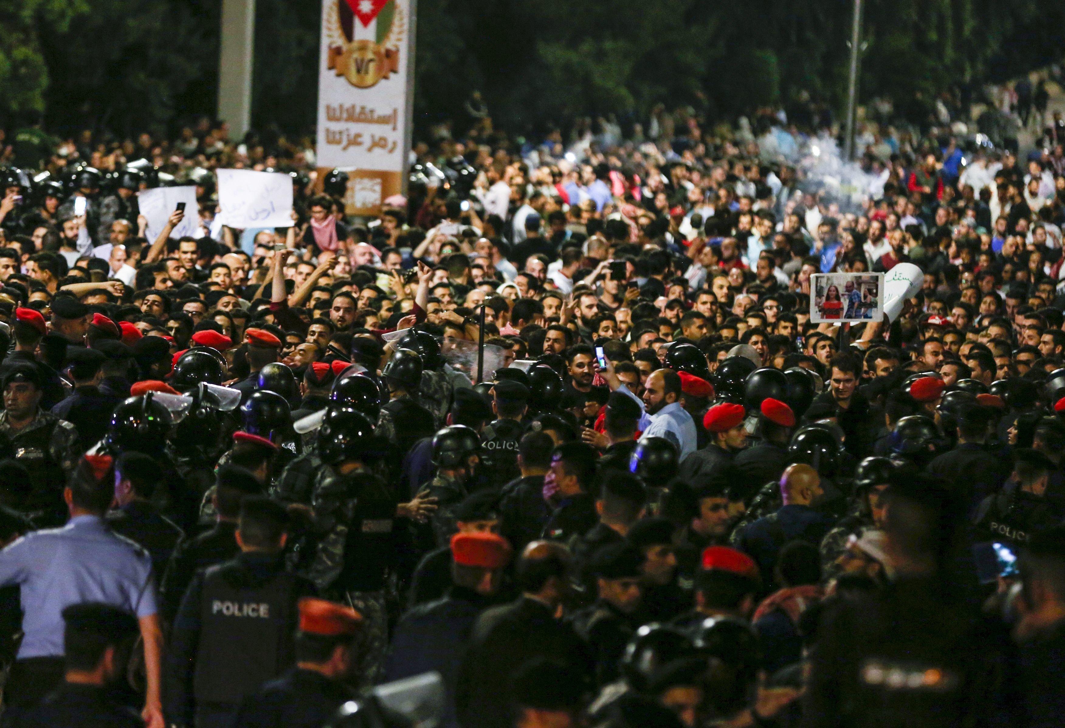 Jordanie: manifestations contre les hausses de prix et des
