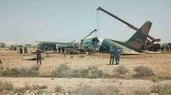 Biskra: Un avion militaire sort de la piste lors de l'atterrissage, au moins 8