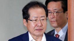 홍준표 지원유세를 중단시킨 자유한국당 후보들의 절박한