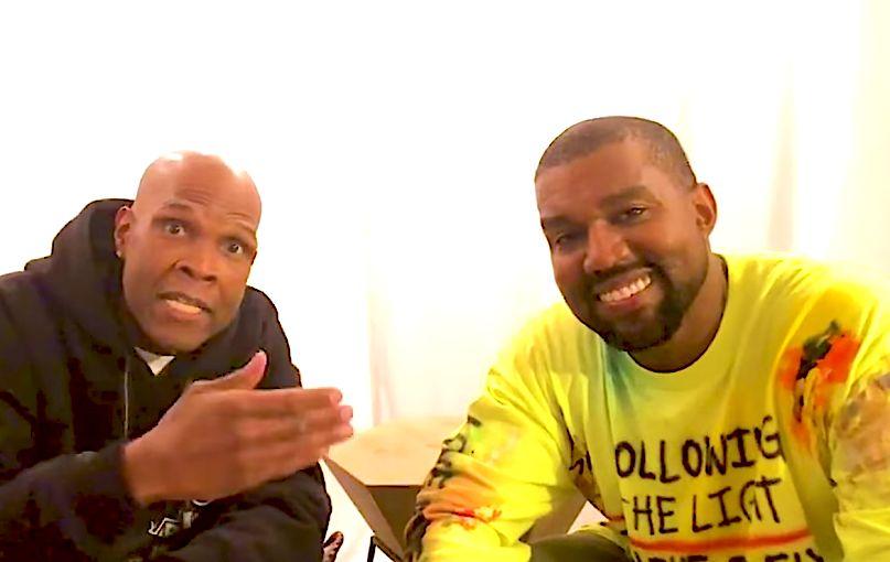 Big Boy and Kanye West