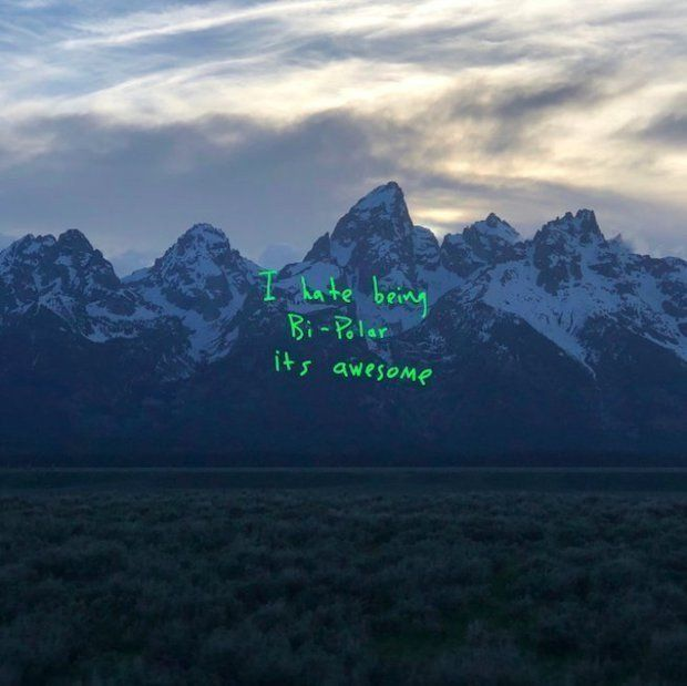 "Artwork for Kanye West's new album, ""Ye."""