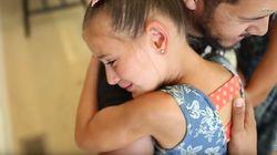 7세 소녀가 자신에게 골수를 기증한 사람을 만난