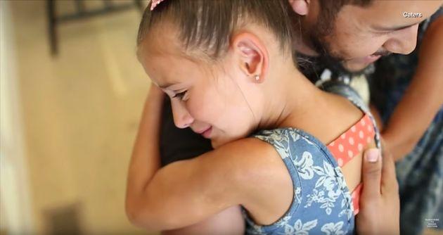 7세 소녀가 백혈병 환자인 자신에게 골수를 기증한 사람을