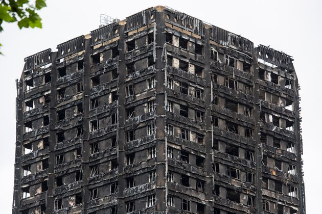 Grenfell Tower was engulfed in flames in June last year