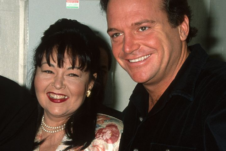 Roseanne Barr and Tom Arnold were married from 1990 to 1994.