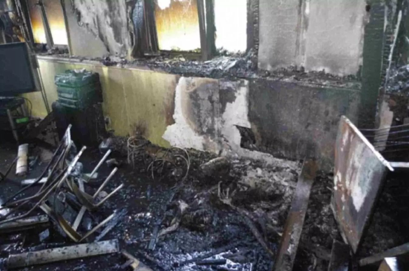 New Photos Reveal Charred Remains Of The Flat Where The Grenfell Tower Blaze