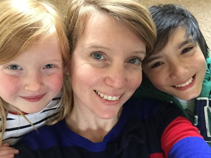 Hannah Martin, 46, from Worthing went back to work when her son Ollie was four months old, and breastfed him exclusively until he was eighteen months.