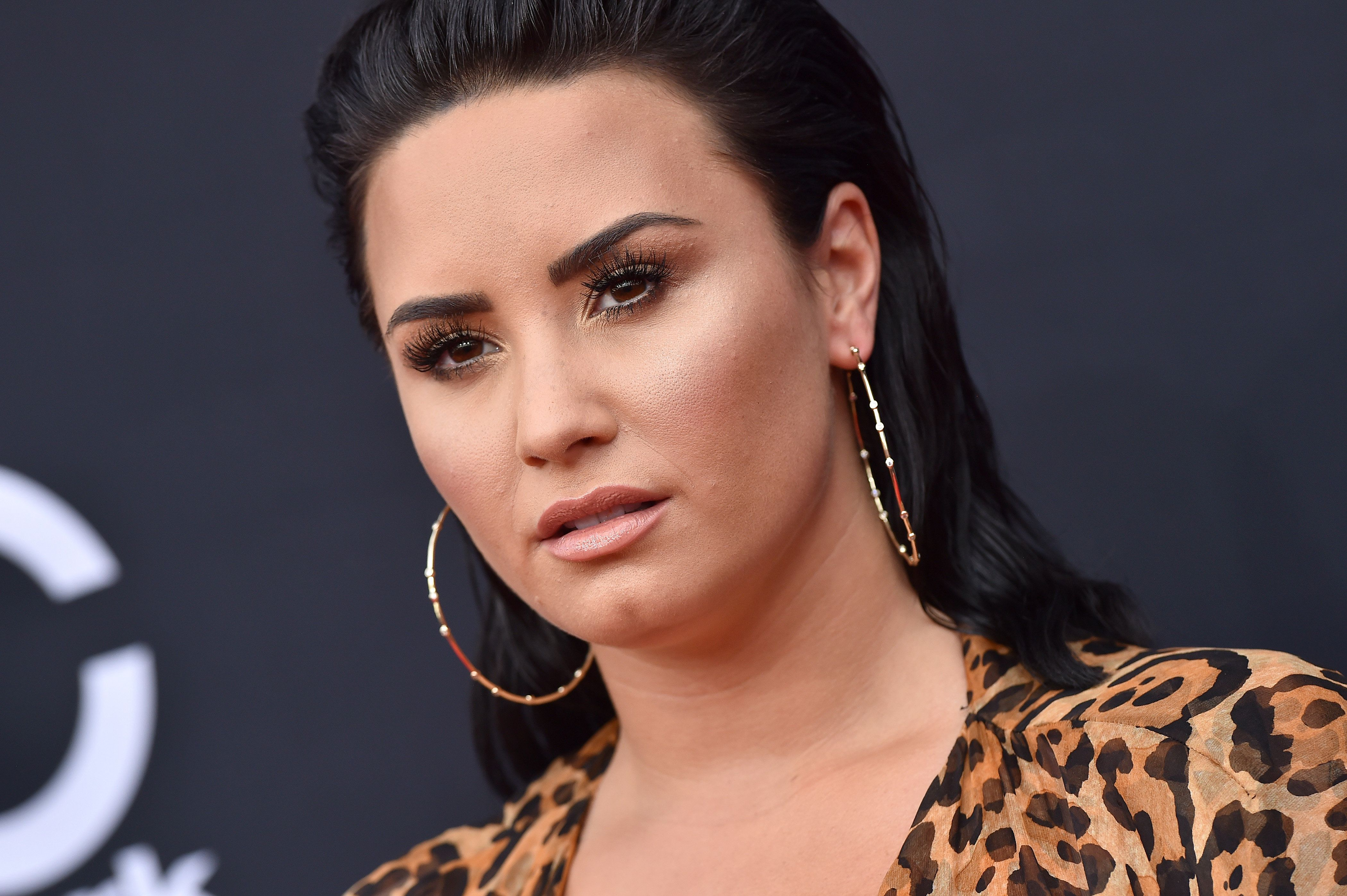 LAS VEGAS, NV - MAY 20:  Recording artist Demi Lovato attends the 2018 Billboard Music Awards at MGM Grand Garden Arena on May 20, 2018 in Las Vegas, Nevada.  (Photo by Axelle/Bauer-Griffin/FilmMagic)