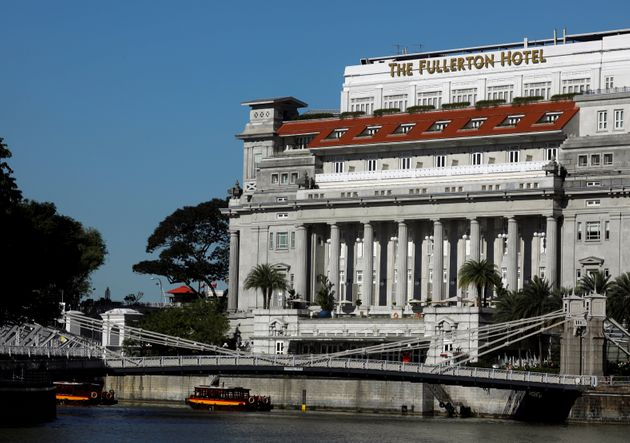 The Fullerton Hotel is reportedly Kim Jong Un's preferred lodging for the upcoming summit in