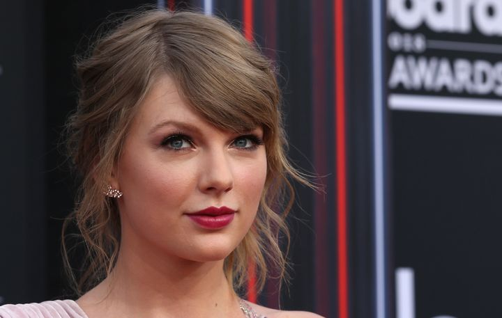 Taylor Swift attends the Billboard Music Awards on May 20.