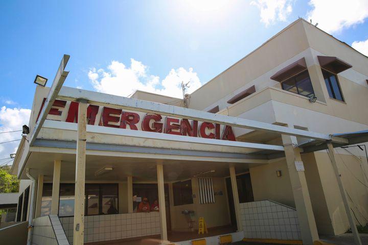 An emergency room in Vega Baja, Puerto Rico, weeks after Hurricane Maria made landfall on the island.