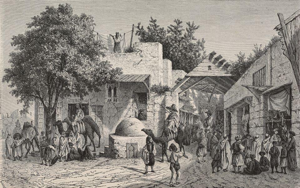 Cette illustration date de l'époque de Sadok Bey. Une époque où laTunisie...