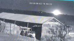 Βίντεο: Μετεωρίτης έπεσε στην Αφρική λίγες ώρες μετά τον εντοπισμό
