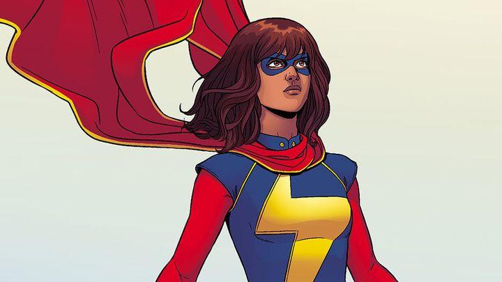 Ms. Marvel, aka Kamala Khan.
