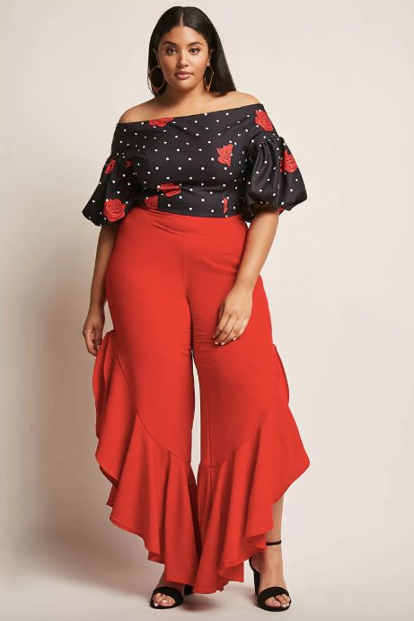 """Get the matching set <a href=""""https://www.forever21.com/us/shop/catalog/product/plus/plus_size-bottom-pants/2000264146"""" targe"""