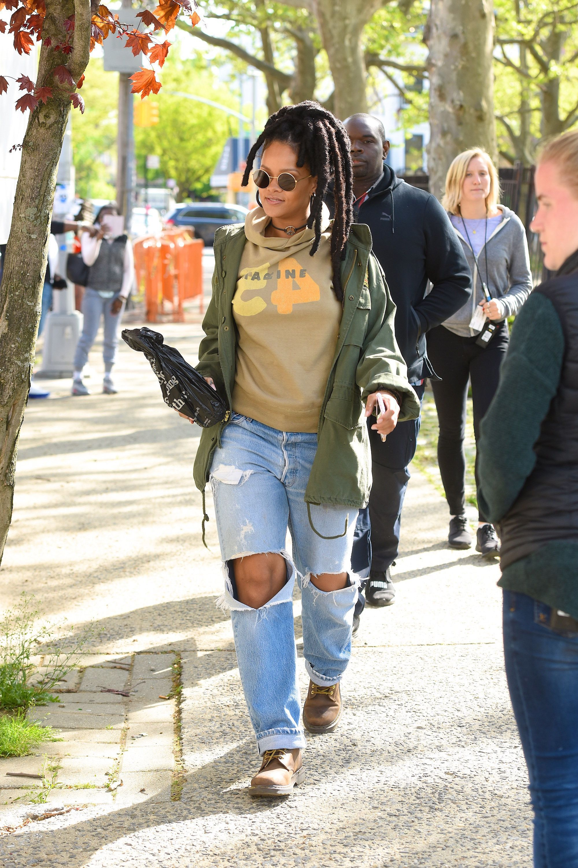Here's Why Rihanna Deliberately Wore Locs In 'Ocean's