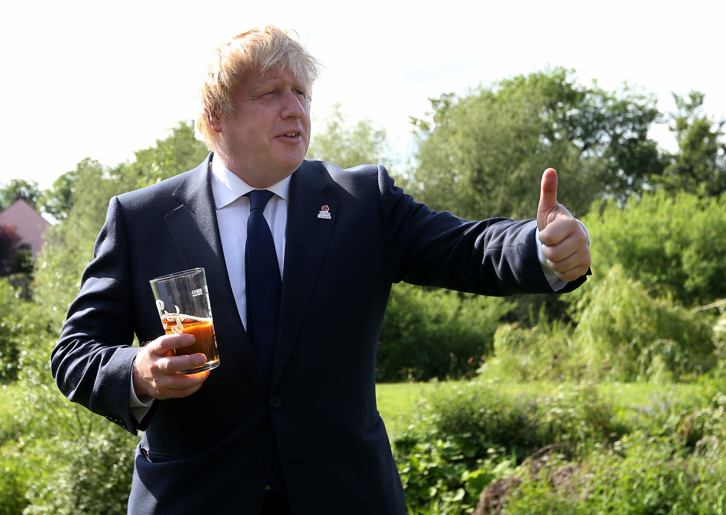 How This Summer's Tory Drinks Parties Will Fuel Leadership