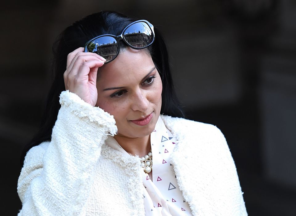 Priti Patel has been working the tea rooms in Parliament, according to a Tory source