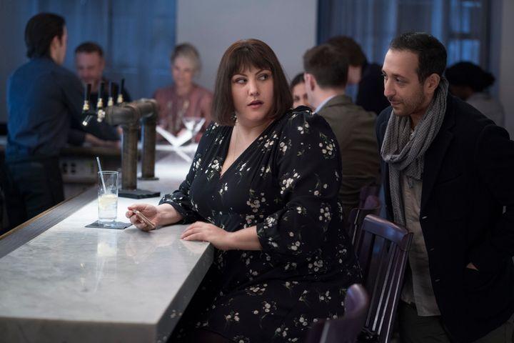 Joy Nash as Plum in AMC's TV adaptation of<i>Dietland.</i>