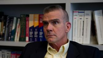 UNITED STATES - August 29: Matt Rosendale (R) Montana during an interview at Roll Call in Washington, D.C.  (Photo By Douglas Graham/CQ Roll Call)