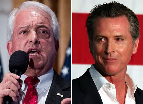 John Cox, a Republican businessman, and Gavin Newsom, the state's Democratic lieutenant governor, are projected to be the riv
