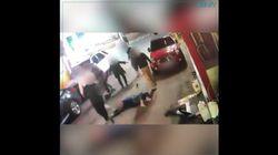 영남일보가 '대구 폭행 사건' CCTV 영상을