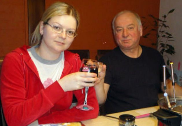 Sergei Skripal and his daughter Yulia were left critically ill in the nerve agent