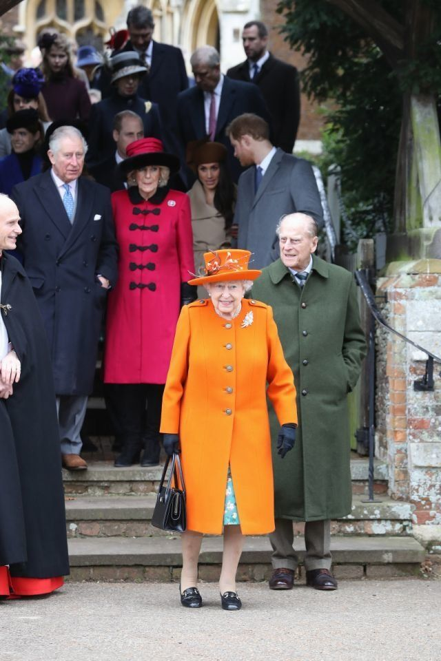 The duchess was first photographed with the queen on Christmas Day at the royal family's annual church service.