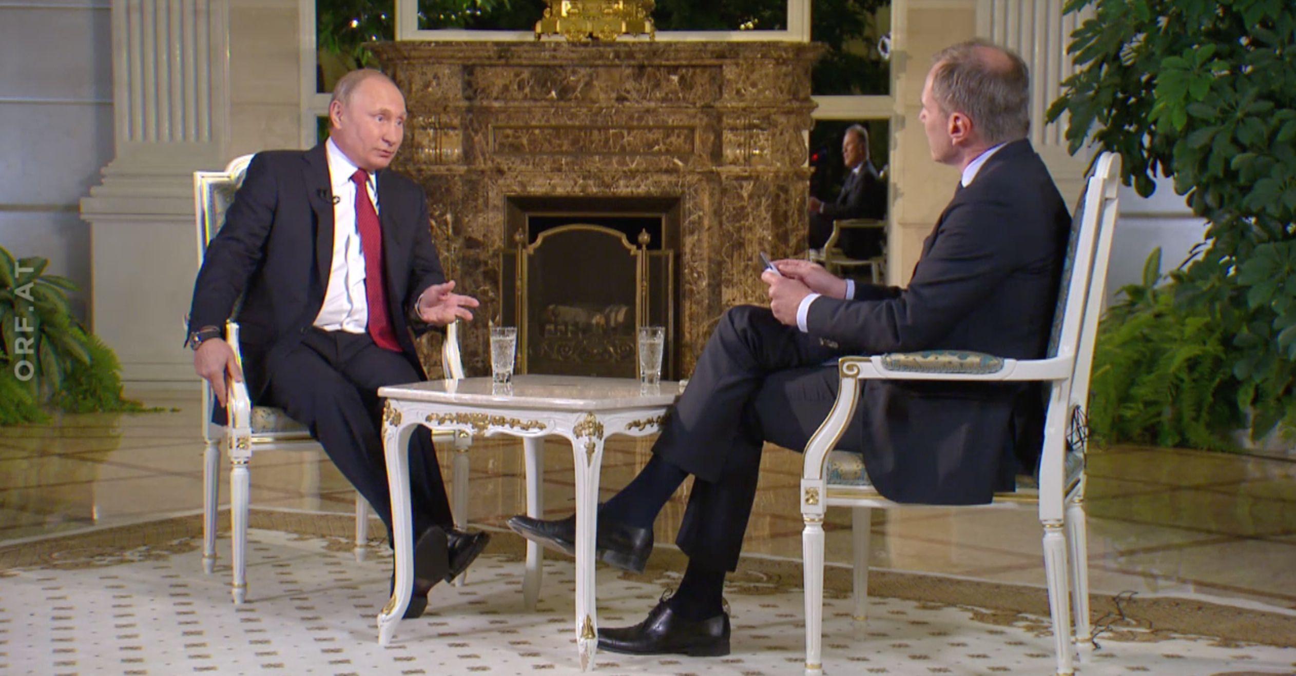 Putin-Interview: Wie man einen Autokraten zur Verzweiflung