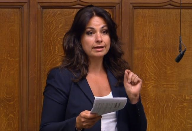 Tory MP Heidi Allen broke down in the House of Commons