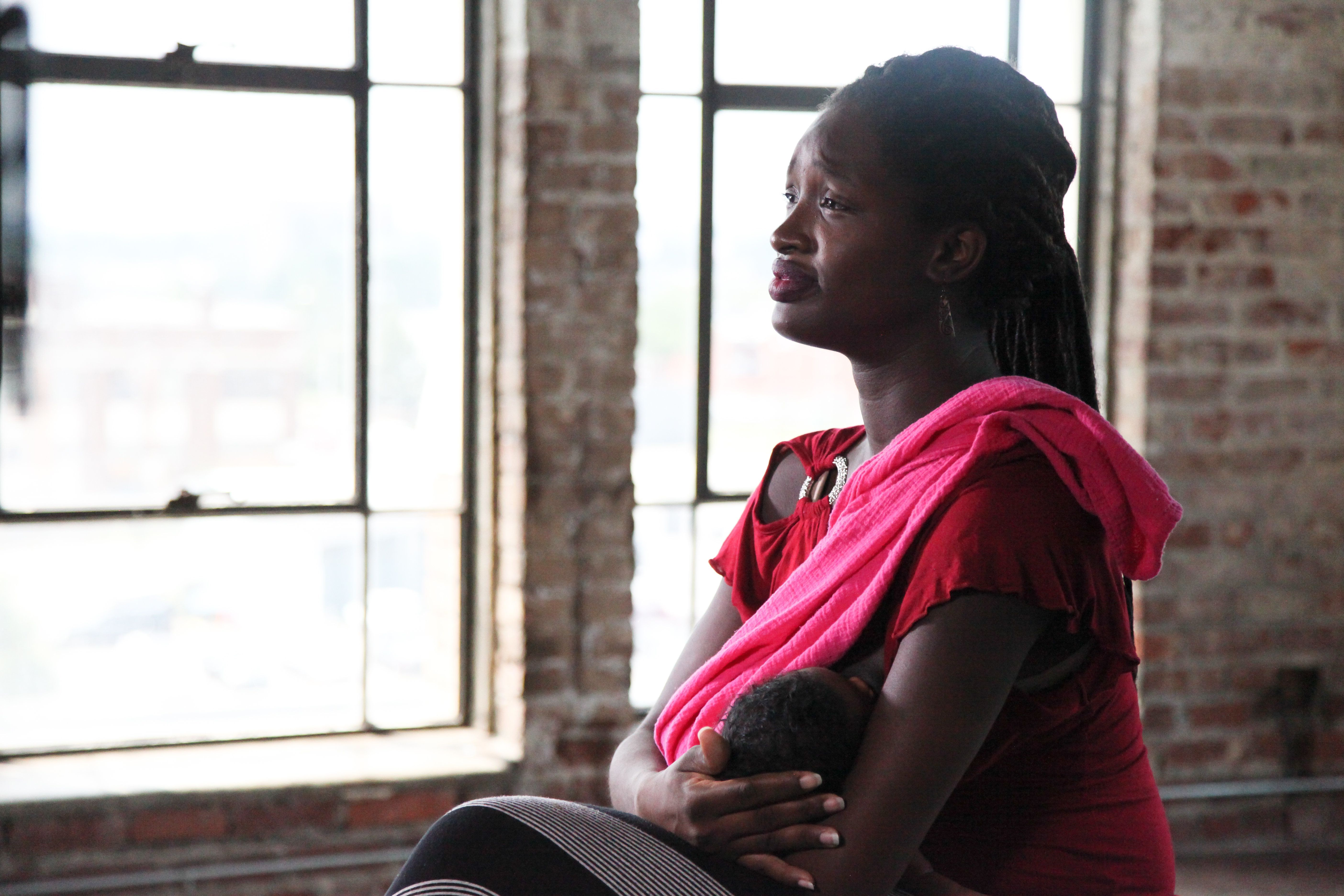 """""""Mother May I?"""" is a documentary focused on birth trauma and obstetric violence.Jessica Craig-Perry (above) took part in a """"survivor interview"""" for the project."""