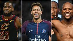Qui est l'athlète le mieux payé de la planète en