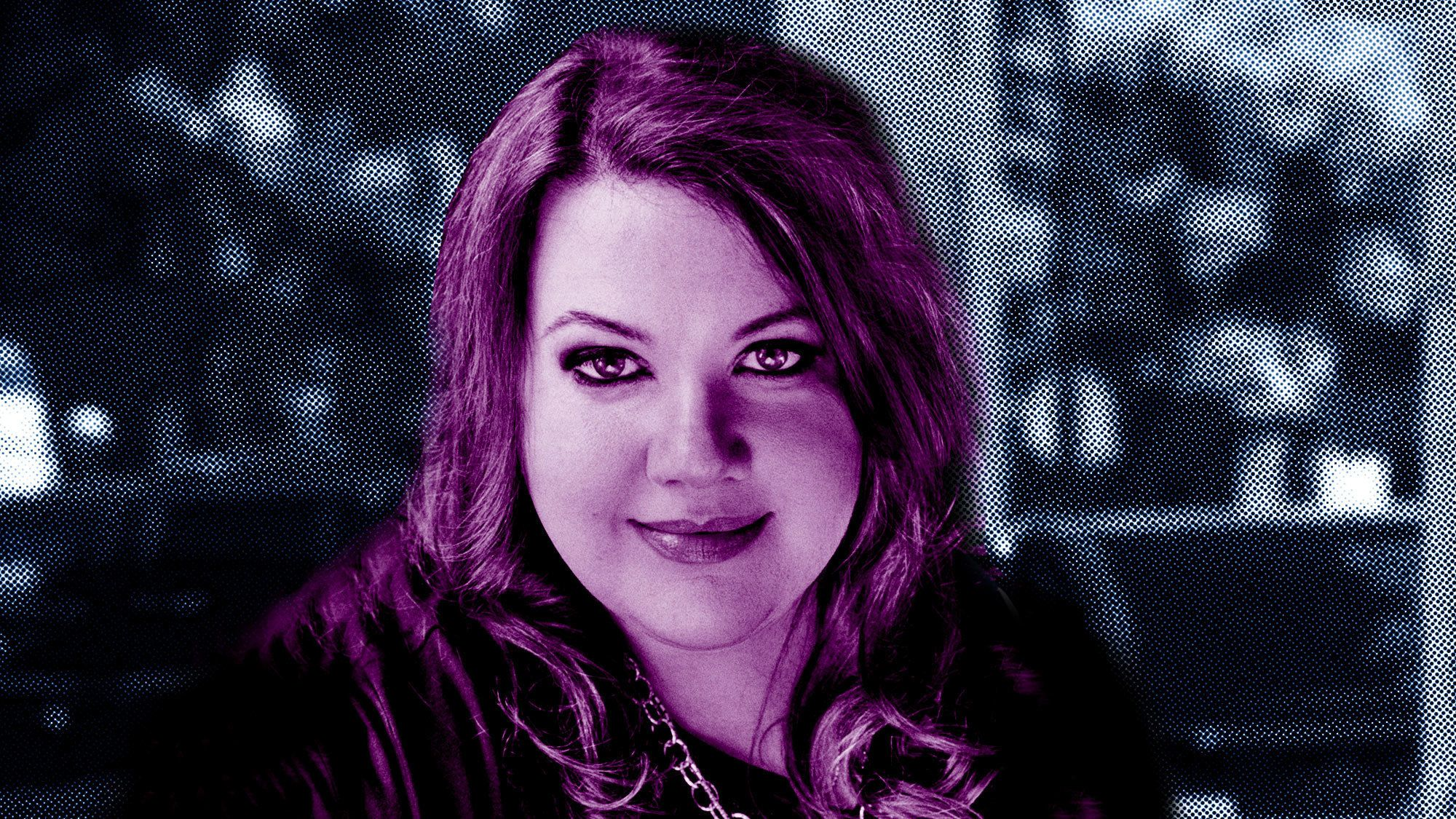 Sarai Walker, the author of<i>Dietland</i>.
