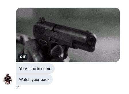 Después de que Luke O'Brien expusiera a la persona detrás de la cuenta @AmyMek, recibió docendas de amenazas...
