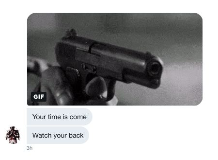 After HuffPost's Luke O'Brien identified the person behind @AmyMek, he received dozens of threats via tweet, phone and email.