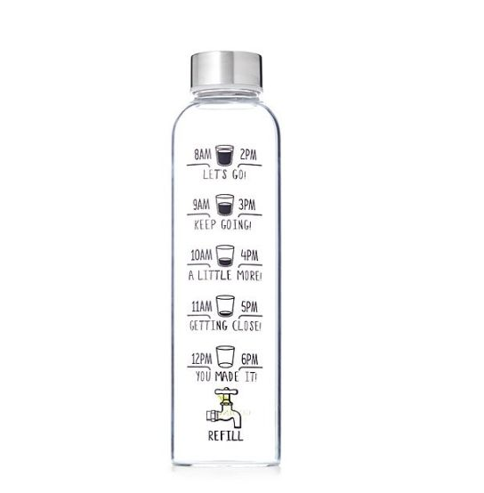 """$20, get it <a href=""""https://www.uncommongoods.com/product/motivational-water-bottle"""" target=""""_blank"""">here</a>."""
