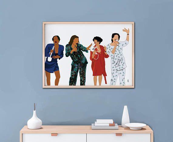 "$14+, get it <a href=""https://www.etsy.com/listing/586017223/living-single-art-print-poster-90s-tv?ga_order=most_relevant&amp"