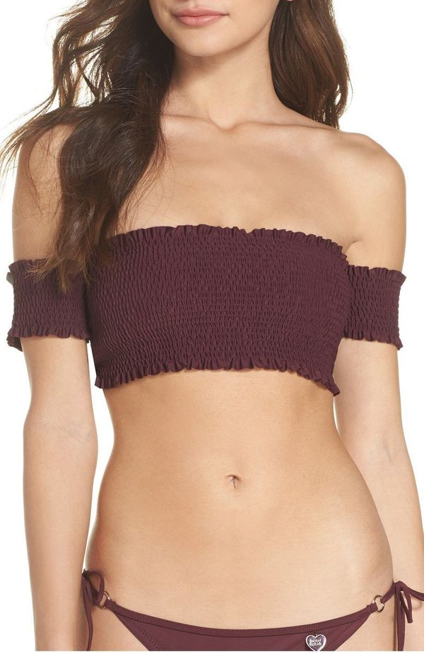 "Get the matching set <a href=""https://shop.nordstrom.com/s/body-glove-smoothies-bliss-bikini-top/4822669?origin=keywordsearch"