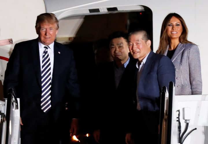 First lady Melania Trump's last public appearance was on May 10, when she and President Donald Trump welcomed the return of h