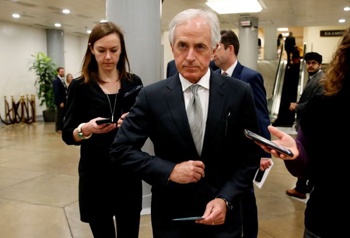 Sen. Bob Corker (R-Tenn.) is drafting legislation to curtail President Donald Trump's authority to levy tariffs.
