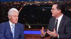 Colbert Gives Bill Clinton A 'Do Over' On His Botched Me Too