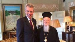 Συνάντηση του αμερικανού πρέσβη με τον Πατριάρχη