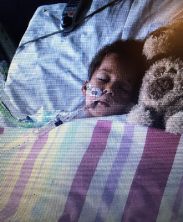 Now the Oyoo family refer to Rosie's five days on life support in May 2015 as her 'big sleep'