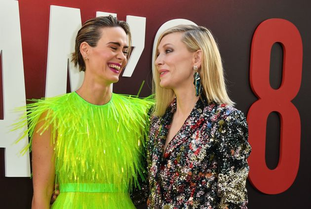 What The 'Ocean's 8' Cast Wore To The Premiere: Ruffles, Abstract And Highlighter