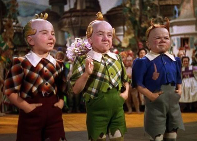 Jerry (in green) in the 1939 film 'The Wizard Of