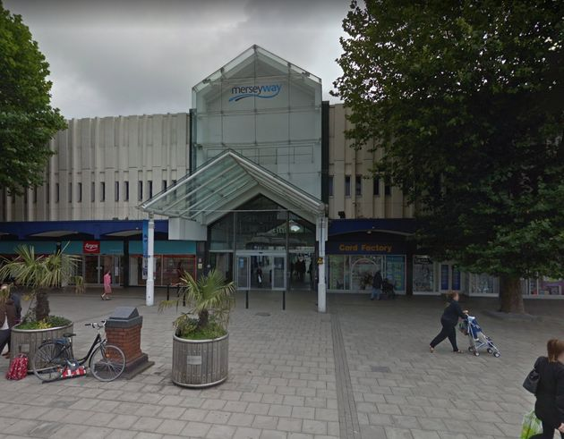 A toddler was almost snatched in an attempted abduction after a shopping trip at Merseyway Shopping
