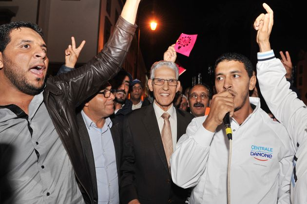 Daoudi participe au sit-in des salariés de Centrale Danone (et les internautes